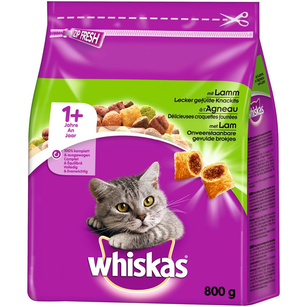 Whiskas Katzenfutter Trockenfutter Adult 1+, Bild 8