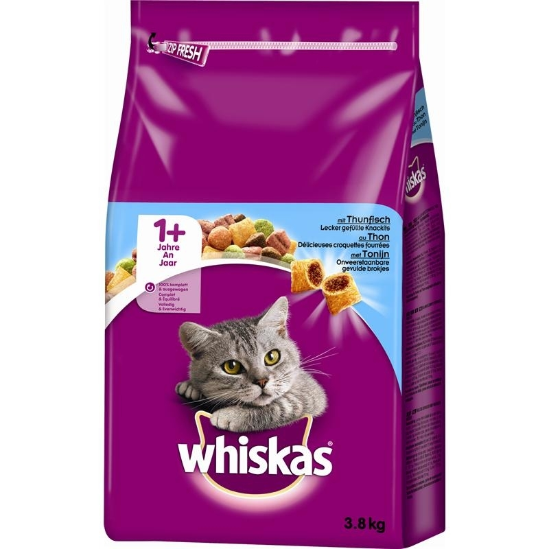 Whiskas Katzenfutter Trockenfutter Adult 1+, Bild 7
