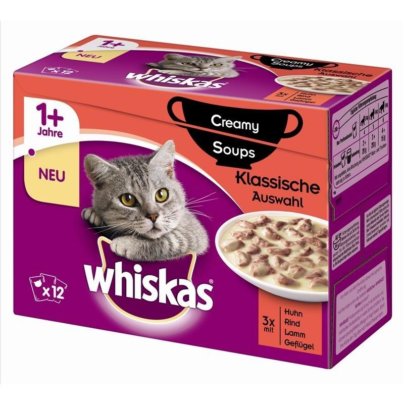 Whiskas Portionsbeutel Multipack 1+ Creamy Soups, Bild 2