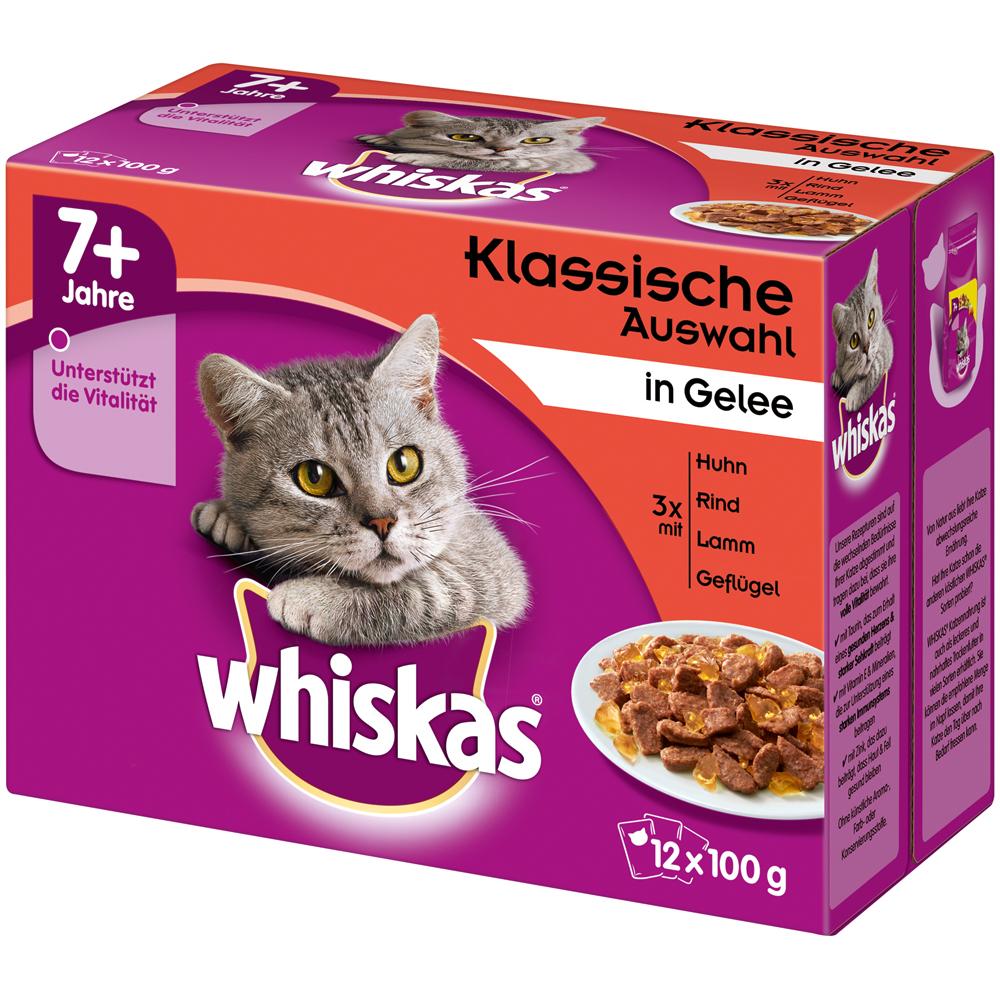 Whiskas Portionsbeutel Multipack 7+ Senior Katzenfutter, Bild 2