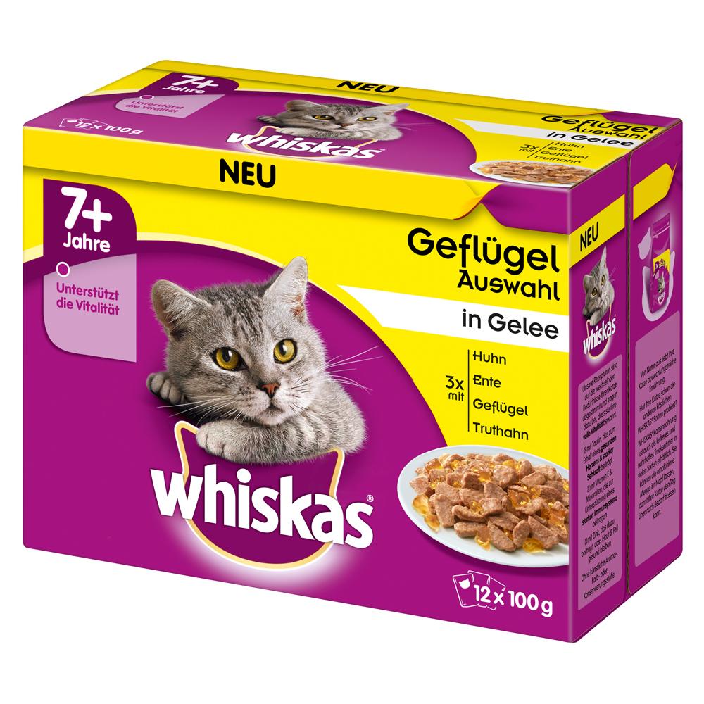 Whiskas Portionsbeutel Multipack 7+ Senior Katzenfutter, Bild 3