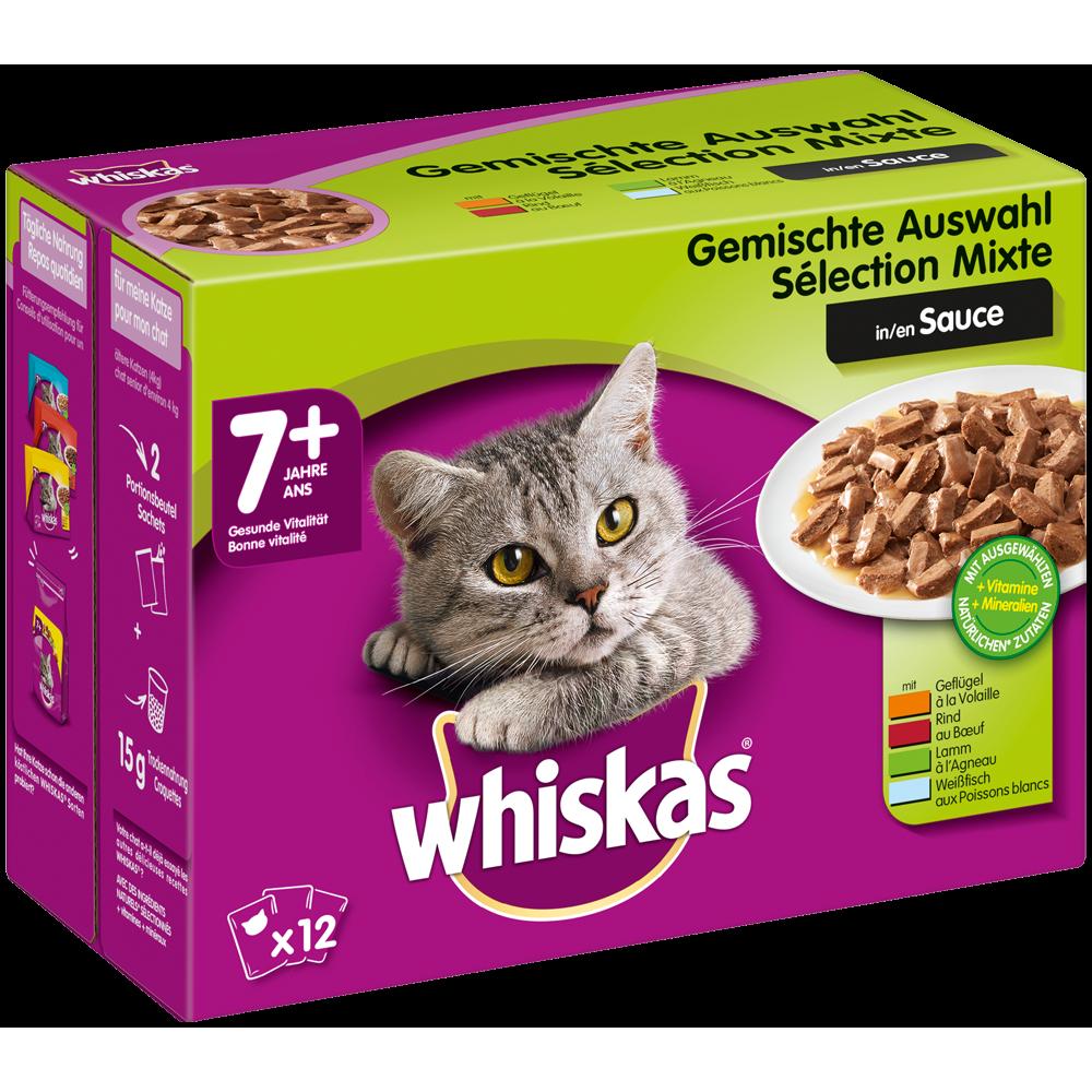 Whiskas Portionsbeutel Multipack 7+ Senior Katzenfutter, Bild 4