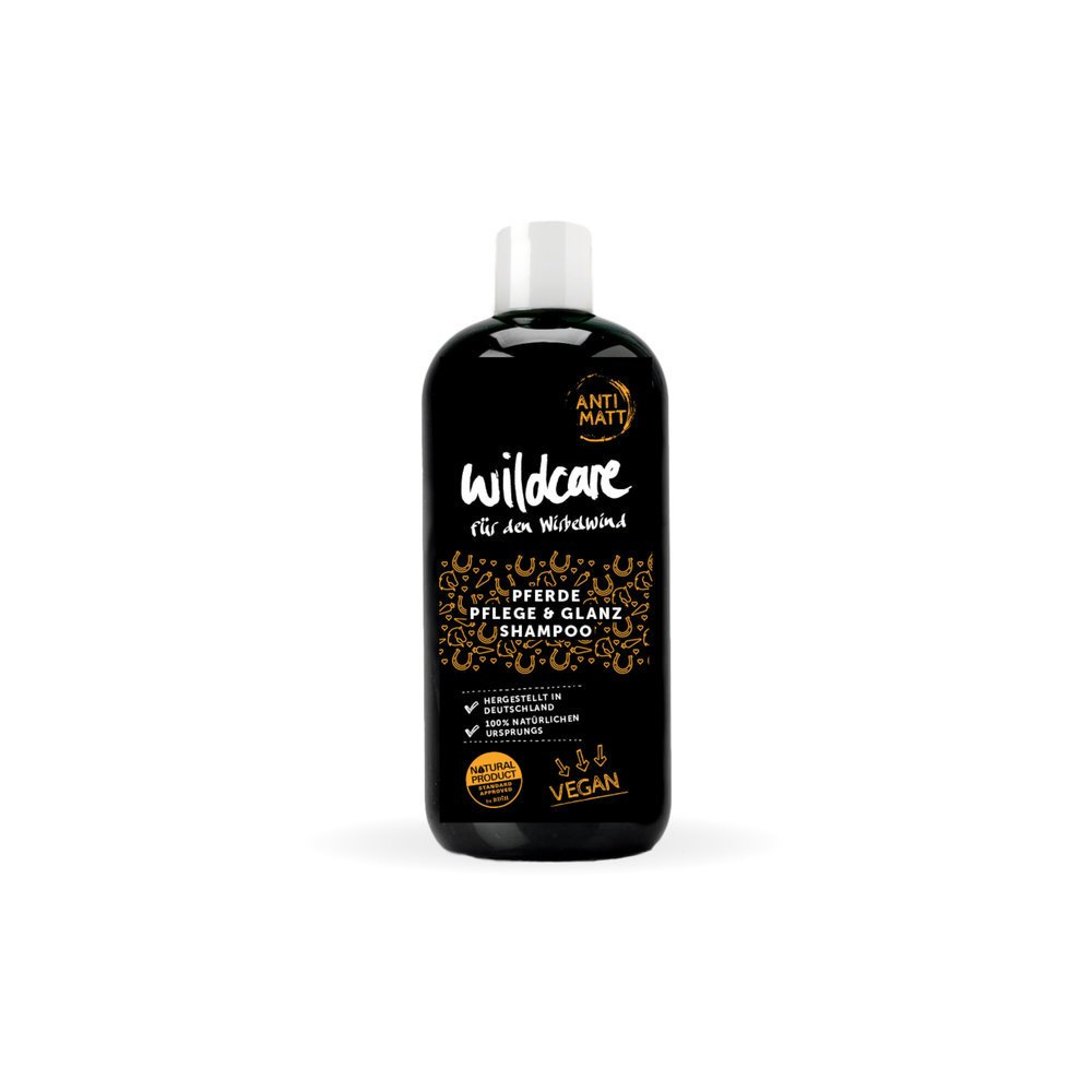 Wildcare Anti Matt Glanz Shampoo für Pferde, Anti Matt Shampoo - 250 ml