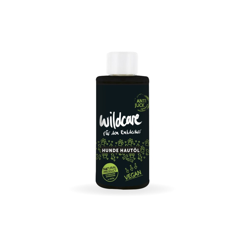 Wildcare Dog Anti Juck Hautöl für Hunde, Hautöl-intensiv (75 ml)