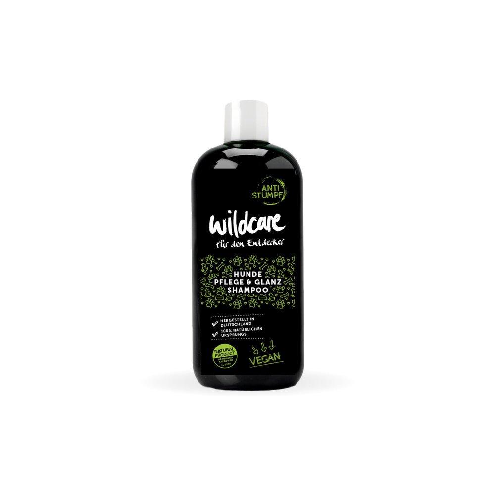 Wildcare Dog Pflege & Glanz Hundeshampoo Anti Stumpf, Pflege & Glanz Shampoo (250 ml)