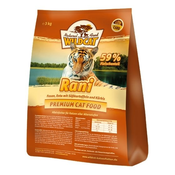 Wildcat Rani Katzenfutter, 3 kg