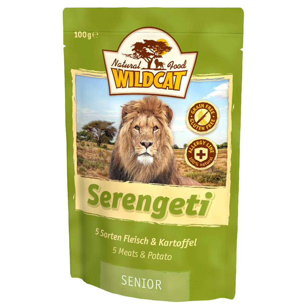 Wildcat Serengeti  Nassfutter Pouches, Bild 2