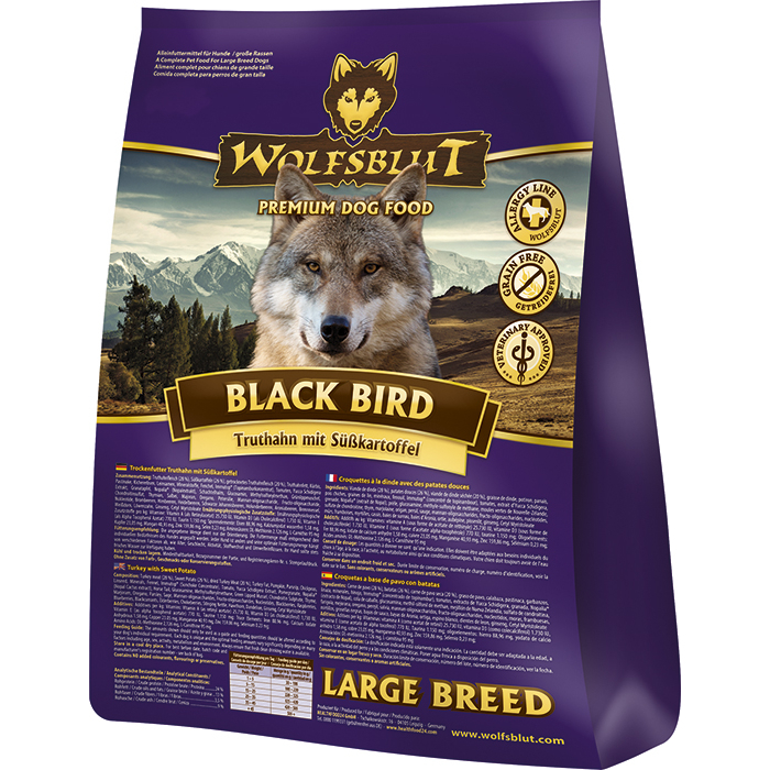 Wolfsblut Black Bird Large Breed Hundefutter