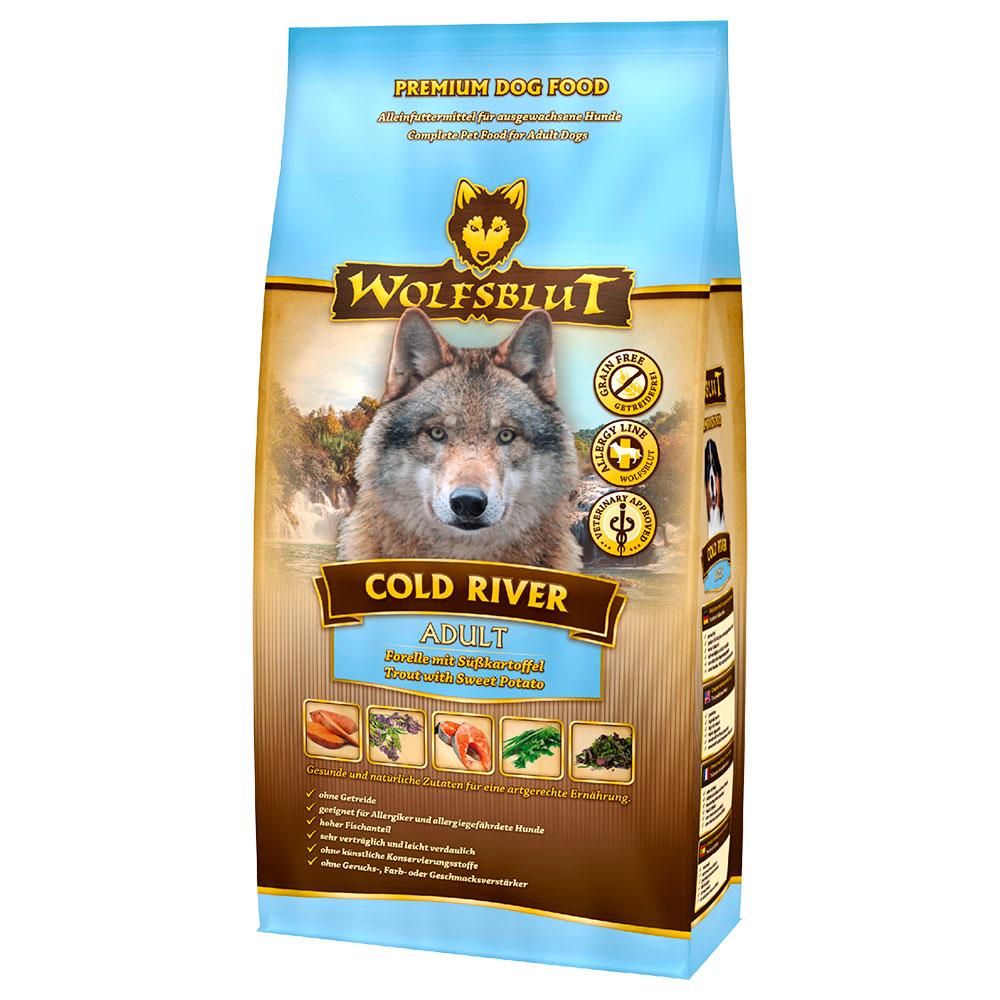 Wolfsblut Cold River Hundefutter mit Fisch