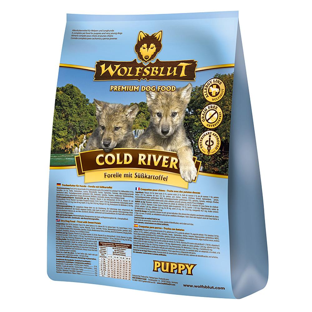 Wolfsblut Cold River Puppy Welpenfutter, 2 kg