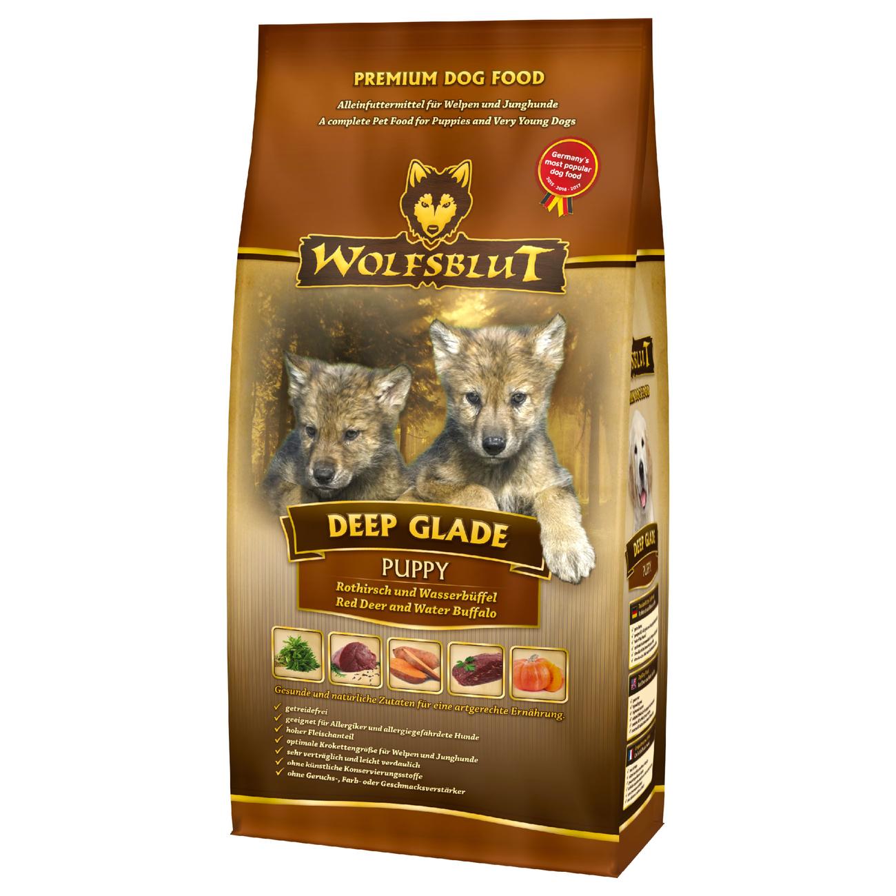 Wolfsblut Deep Glade Puppy Hundefutter, 500 g