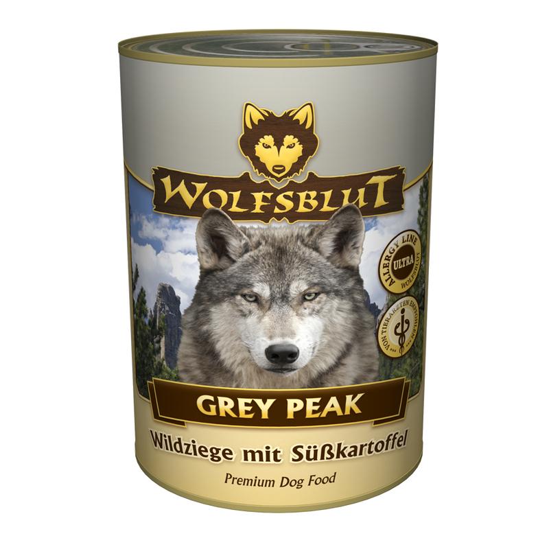 Wolfsblut Nassfutter Dose Grey Peak, 6 x 395