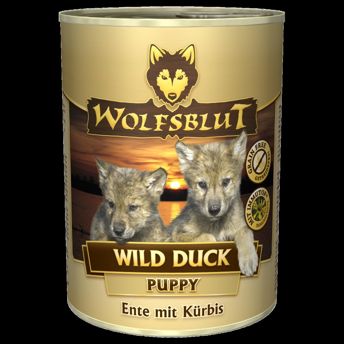 Wolfsblut Welpenfutter Dose Wild Duck PUPPY
