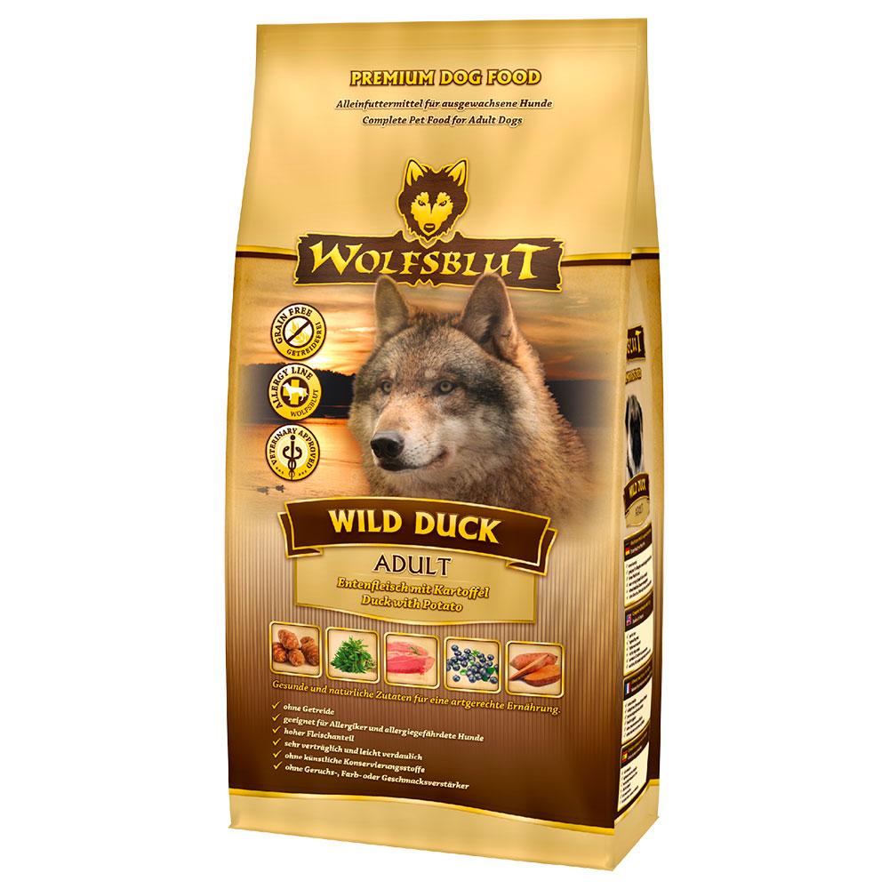 Wolfsblut Wild Duck Hundefutter, 2 kg