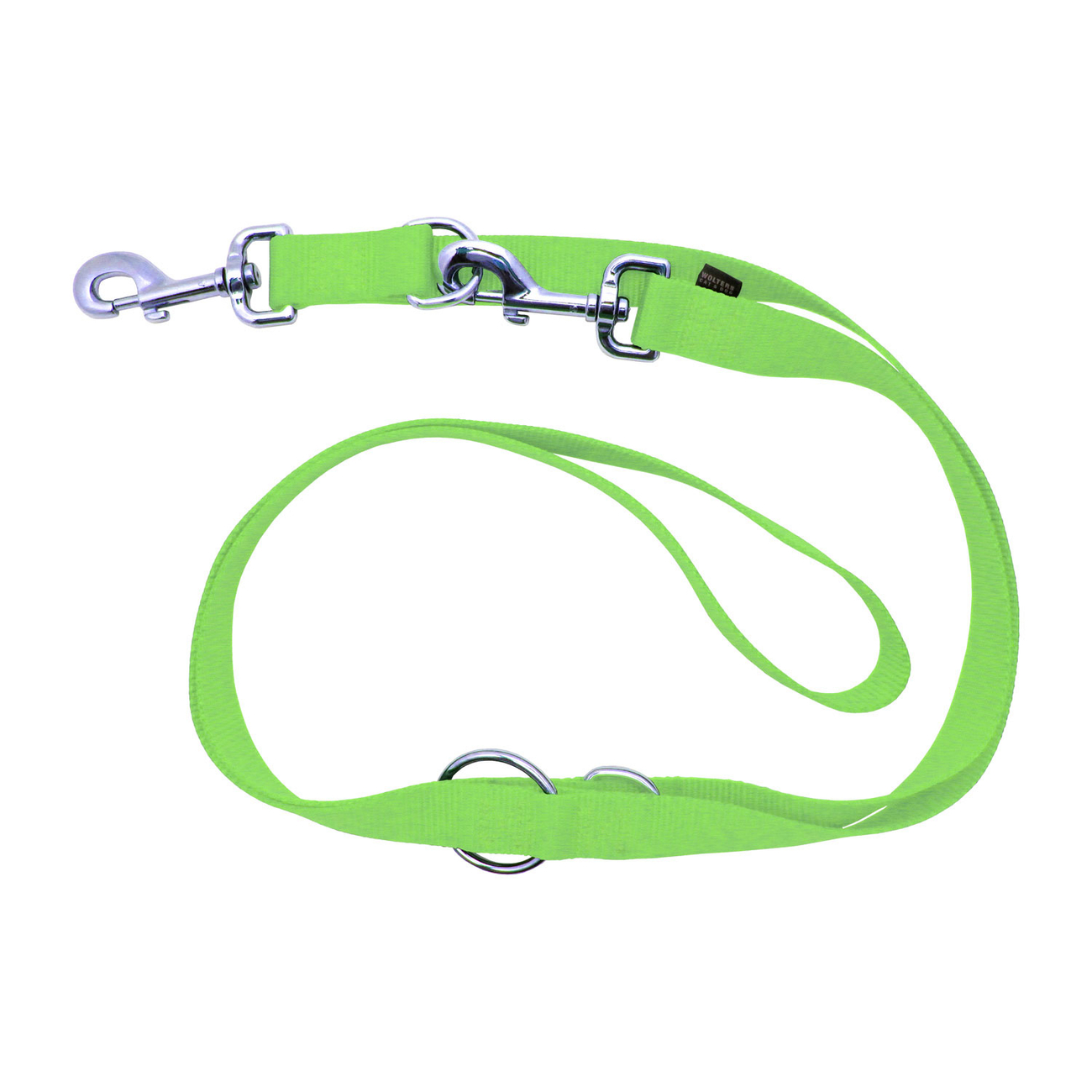 Wolters Hundeleine Nylon Basic, Gr.XL 200cm x 25mm lime