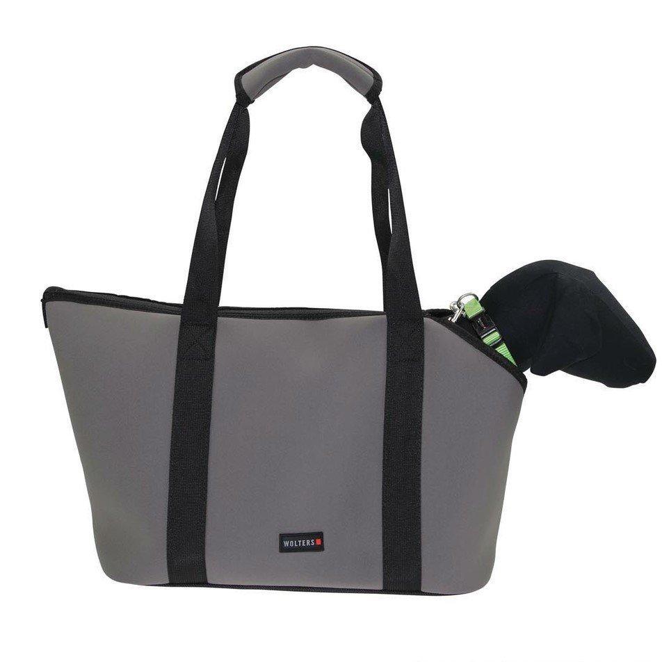 Wolters Hundetasche Softbag Grey Essentials Large, Bild 3