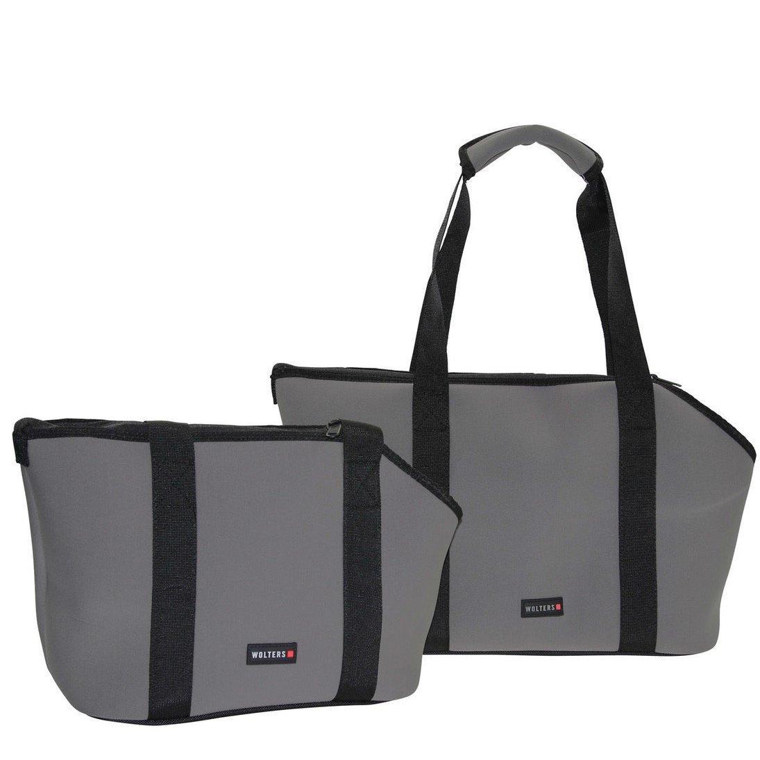 Wolters Hundetasche Softbag Grey Essentials Large, Bild 4