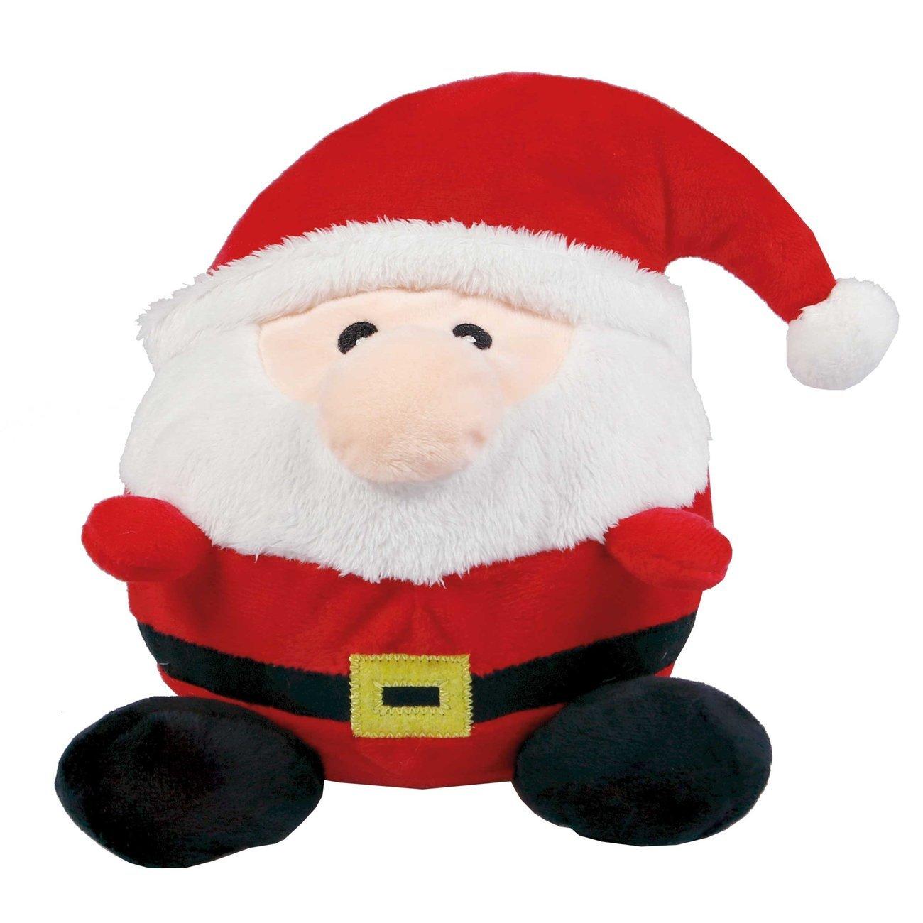 Wolters Plüschball Weihnachtsmann, 23 cm