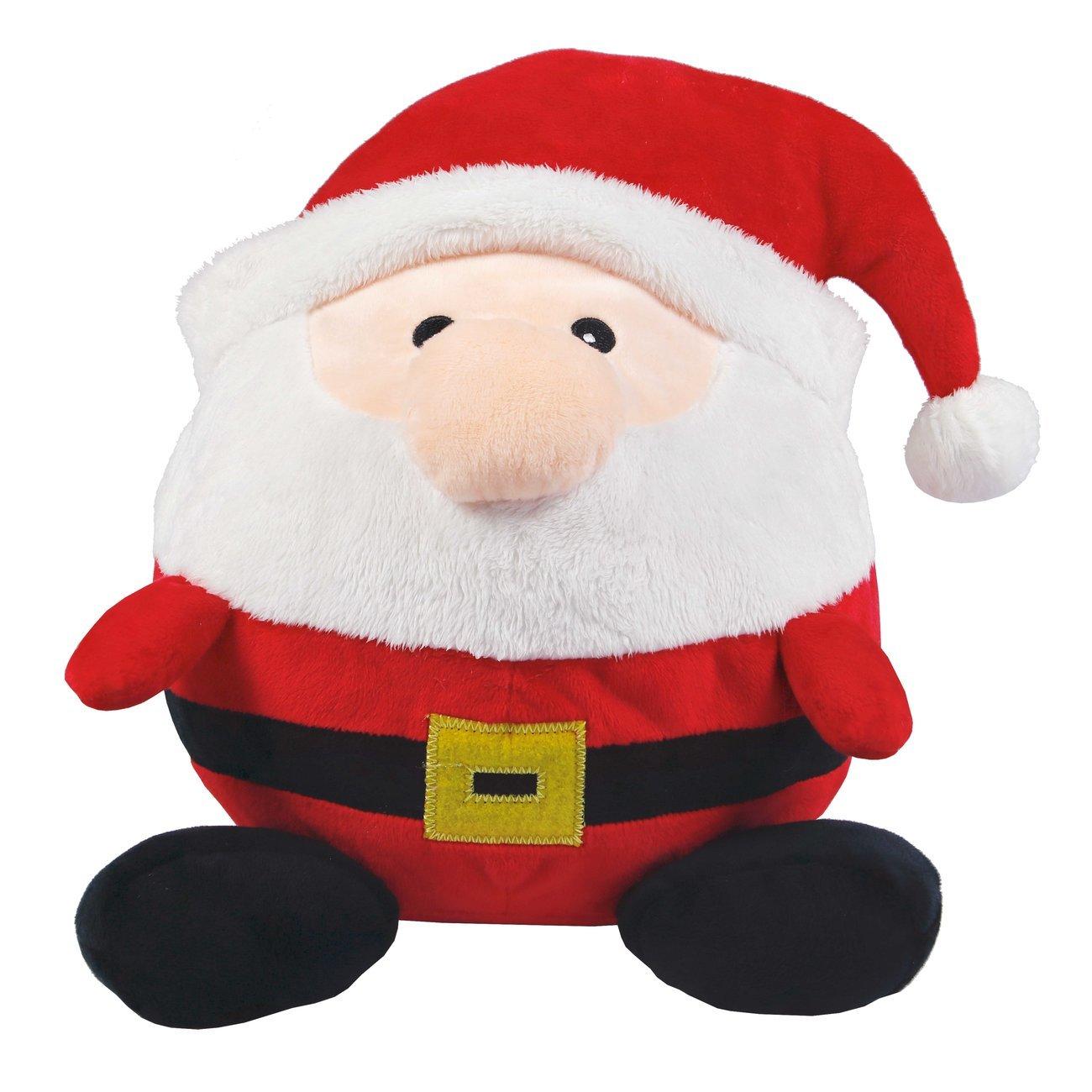 Wolters Plüschball Weihnachtsmann, 15 cm
