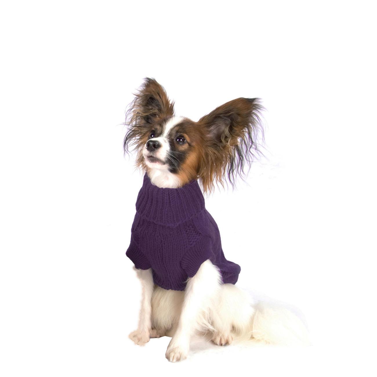 Wolters Zopf-Strickpullover für Hunde, Bild 4
