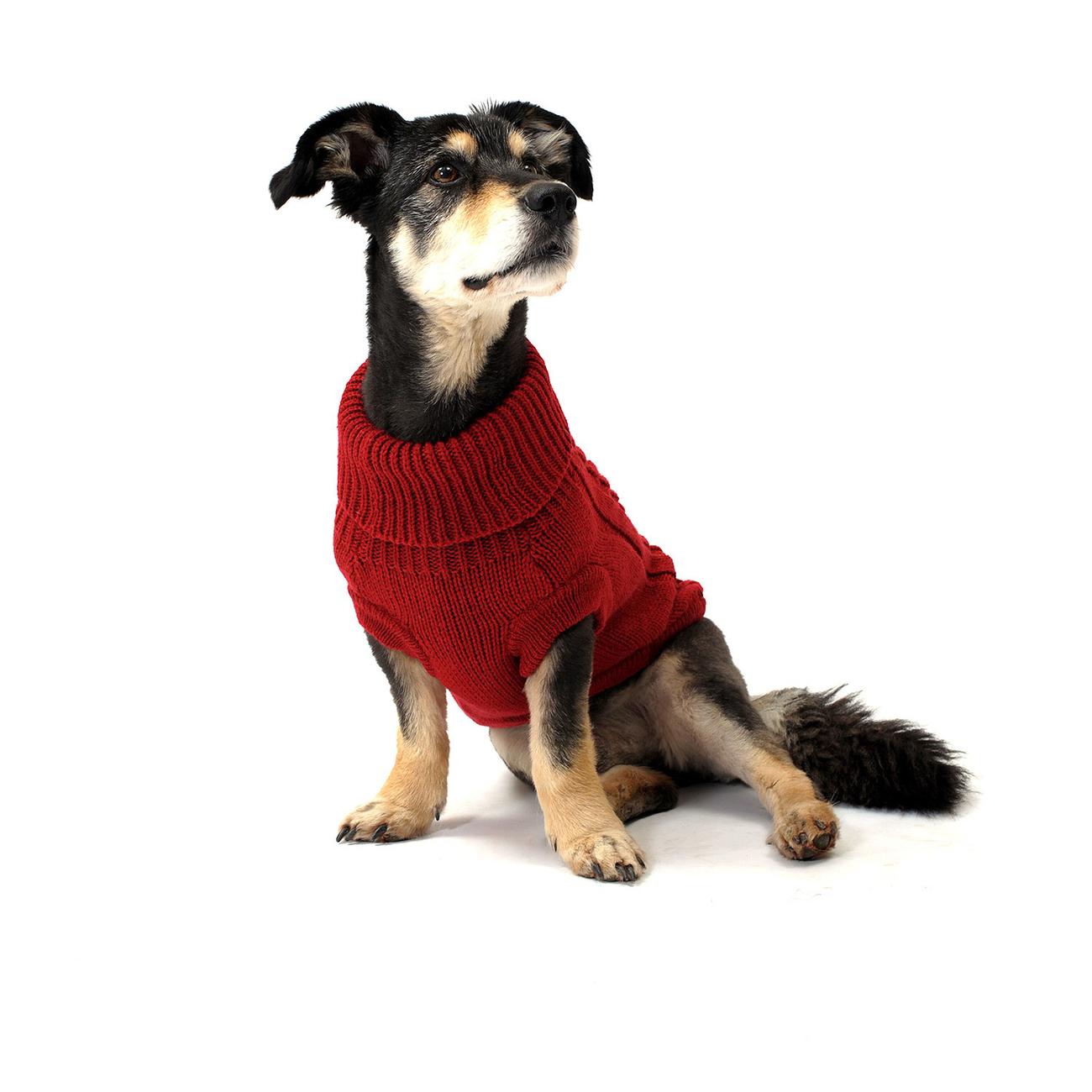 Wolters Zopf-Strickpullover für Hunde, Bild 2