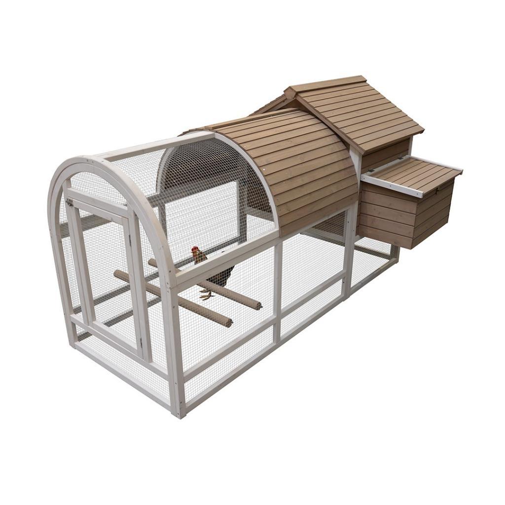 DUVO+ Woodland Hühnerstall Ark 2 mit Auslauf