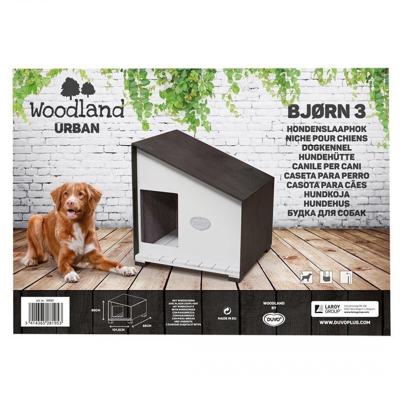 DUVO+ Woodland Hundehütte Urban Bjørn, Bild 2
