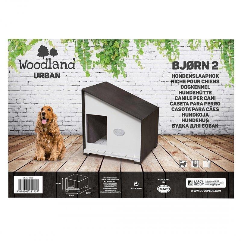 DUVO+ Woodland Hundehütte Urban Bjørn, Bild 3