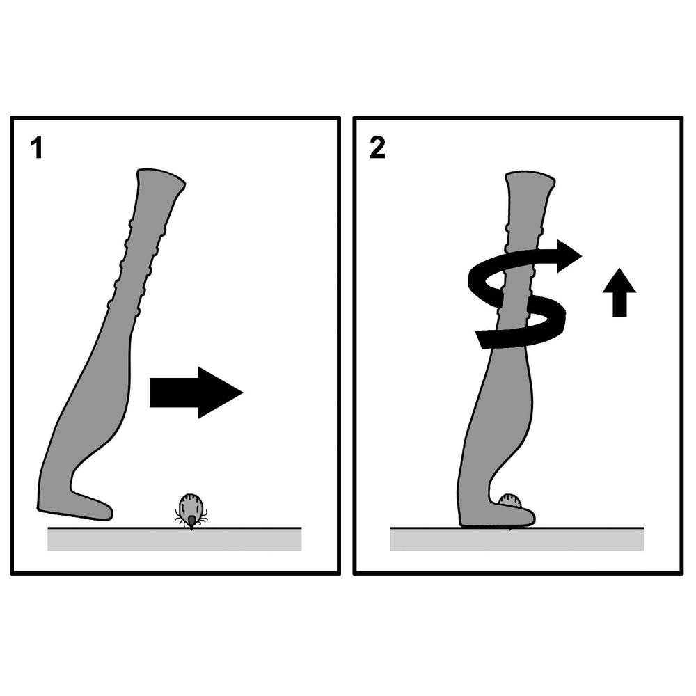Kerbl Zeckenzange Zeckenhaken Smartick®, Bild 4