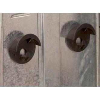Kerbl Zubehör für Sattelschrank, Trensenhalter aus Kunststoff (Stück)