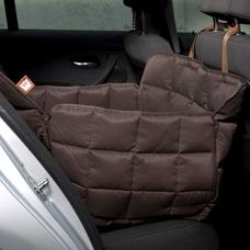 Doctor Bark 1-Sitz Autoschondecke Rücksitz, L: Sitzbreite 60 cm, Sitztiefe 70 cm, Sitzhöhe 50 cm, braun