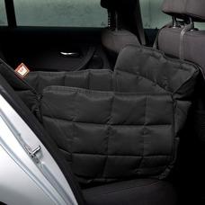 Doctor Bark 1-Sitz Autoschondecke Rücksitz, L: Sitzbreite 60 cm, Sitztiefe 70 cm, Sitzhöhe 50 cm, schwarz