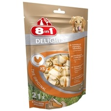 8in1 Delights Kauknochen XS für Hunde