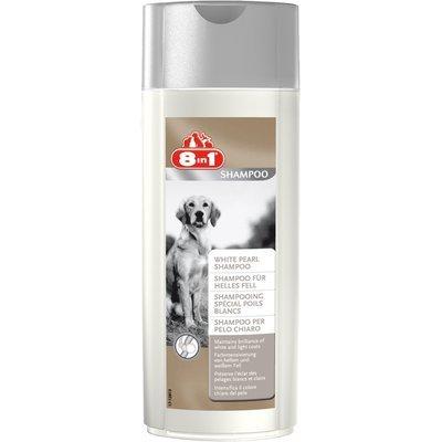 8in1 Hundeshampoo für helles Fell