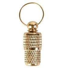 TRIXIE Adressanhänger aus Metall Gold