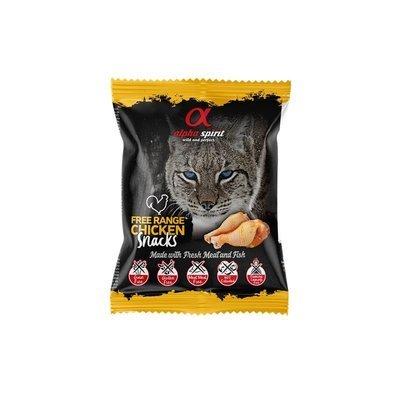 Alpha Spirit Snack Katzensnack gewürfelt