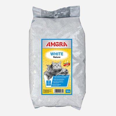 Amora Katzenstreu White Compact Nature