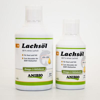 Anibio Lachsöl flüssig