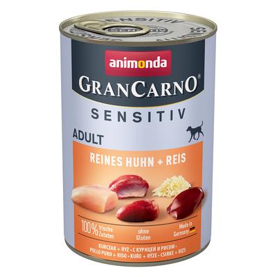 Animonda GranCarno Hundefutter mit Reis Sensitiv