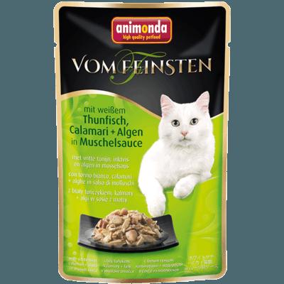Animonda vom Feinsten Katzenfutter im Portionsbeutel, mit Hühnchenfilet & Rindfleisch in Tomatensauce 18x50g