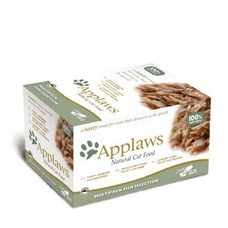 Applaws Cat Pots Selection Multipack Katzenfutter, Multipack Hühnchen 8x60g