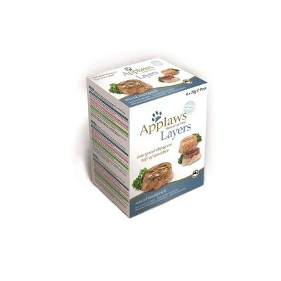 Applaws Cat Schale Nassfutter Layer Multipack Mix