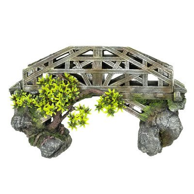 Nobby Aqua Ornaments Brücke mit Pflanzen