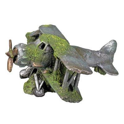 Nobby Aqua Ornaments Flugzeug mit Moos