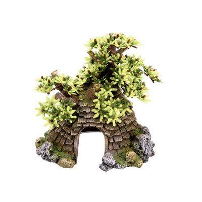 Nobby Aqua Ornaments Haus mit Baum