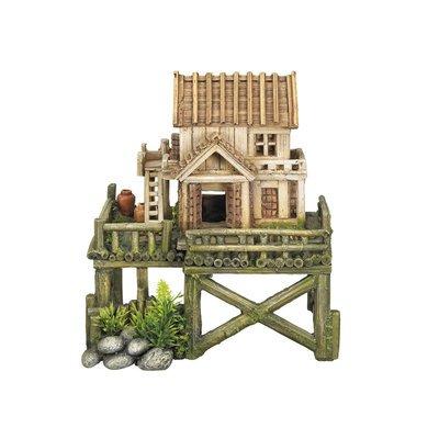 Nobby Aqua Ornaments Haus mit Pflanzen