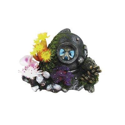 Aqua Ornaments HELM MIT SCHÄDEL mit LED