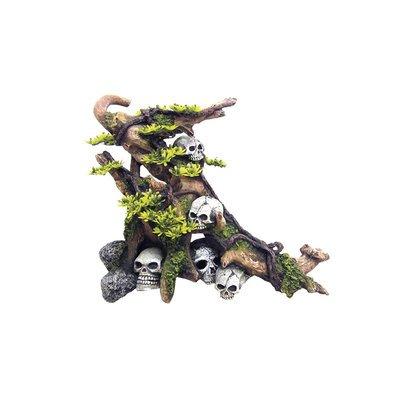Nobby Aqua Ornaments Holz mit Schädeln
