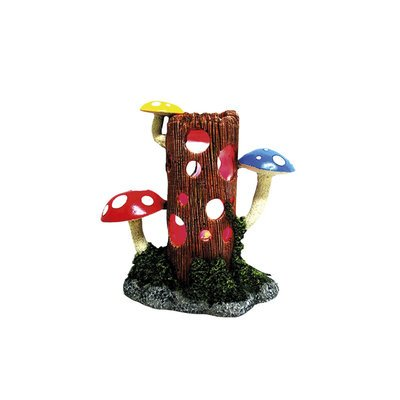 Nobby Aqua Ornaments STAMM MIT PILZEN mit LED