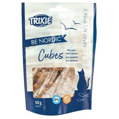 BE NORDIC Salmon Cubes Katzensnack